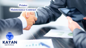 Printer Maintenance Contract