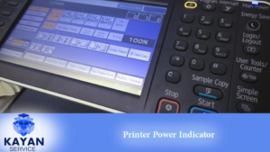Printer Power Indicator