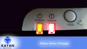 Printer Power orange